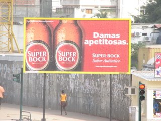 Super Bock Billboard in Africa