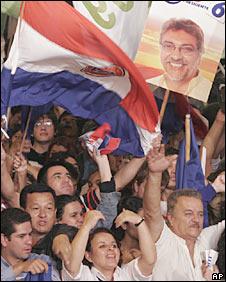 Fernando Lugo Crowd