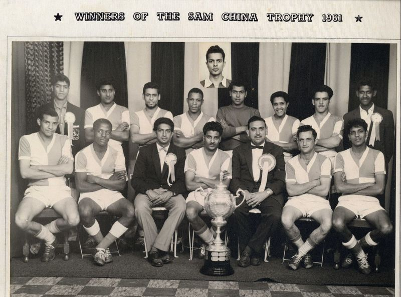 Winners Sam China Cup