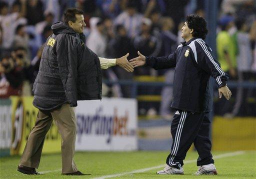 Dunga_Maradona