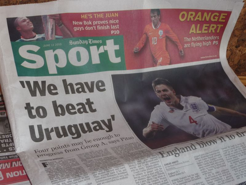 We Must Beat Uruguay