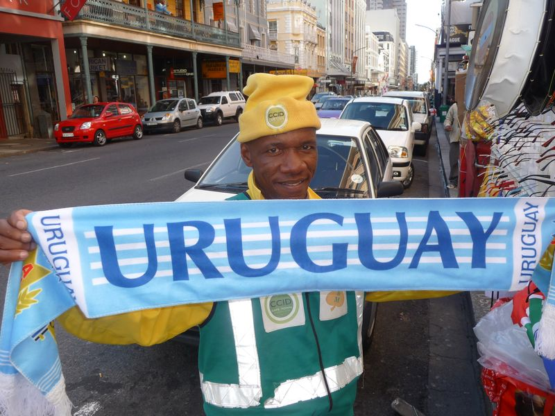 The Man of the Street Forza Uruguay