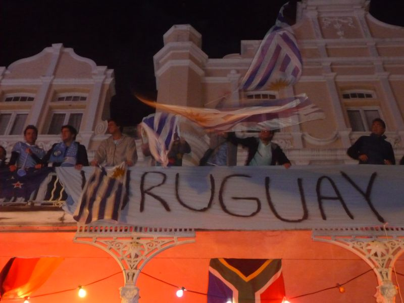 Uruguayans on Long Street